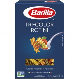 Barilla Tri-Color RotiniPasta - 12oz
