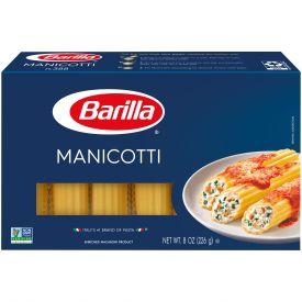 Barilla Manicotti Pasta - 8oz