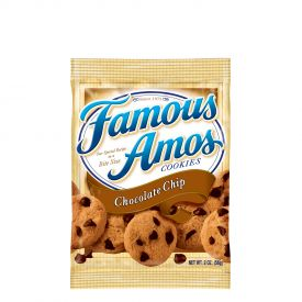 Famous Amos Chocolate Chip cookies - 2oz