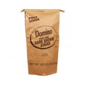 Domino Dark Brown Sugar 50lb.