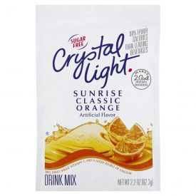 Crystal Light Sunrise Orange 2.2oz.