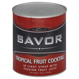 Savor Tropical Fruit Salad in Light Syrup #10