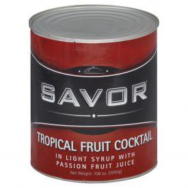 Savor Tropical Fruit Salad in Light Syrup #10
