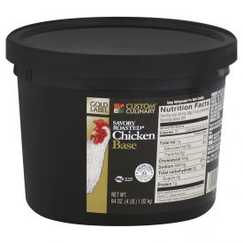 Gold Label Roasted Chicken Savory Base - 4lb
