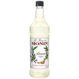 Monin Orgeat Almond Syrup - 33.8oz.