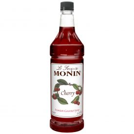Monin Cherry Syrup - 33.8oz