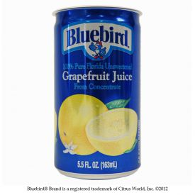 Bluebird Grapefruit Juice 5.5oz.