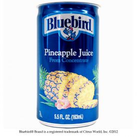Bluebird Pineapple Juice 5.5oz.