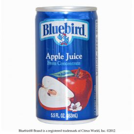 Bluebird Apple Juice 5.5oz.