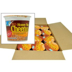 General Mills Honey Nut Cheerios Cereal Cups 1.8oz.