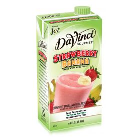 DaVinci Gourmet Strawberry Banana Smoothie Mix 64oz.