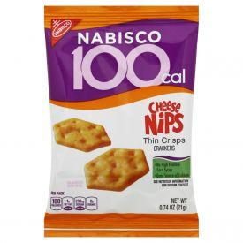 Nabisco Cheez Nips Crackers100 Calorie Packs - 0.74oz