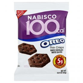 Nabisco Oreo Cookies 100 Calorie Packs - 0.81oz