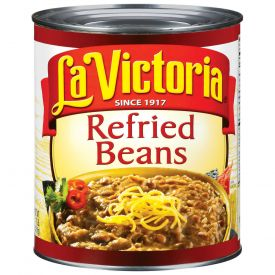La Victoria Refried Beans 112oz.