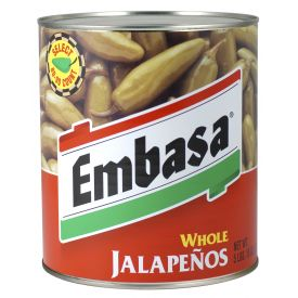 Embasa Whole Escabeche Jalapenos - 92oz