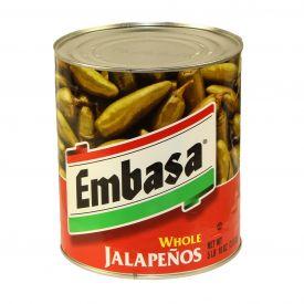 Embasa Whole Jalapenos - 90oz
