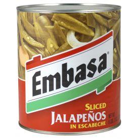 Embasa Sliced Jalapenos in Escabeche - 98oz