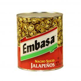 Embasa Nacho Sliced Jalapenos - 98oz