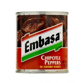 Embasa Chipotle Peppers Adobo Sauce - 7oz