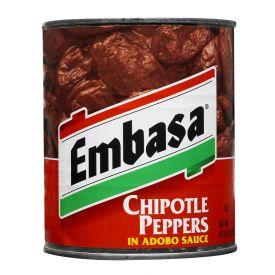 Embasa Chipotle Peppers Adobo Sauce - 26oz