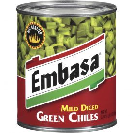 Embasa Mid Diced Green Chiles - 27oz