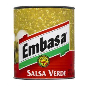 Embasa Salsa Verde 98oz.