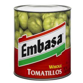 Embasa Whole Tomatillos 98oz.