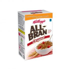Kellogg's All Bran Original Single Serve Packs 1.76oz.