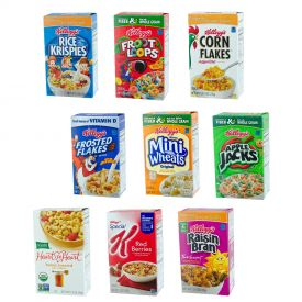 Kellogg's All Family Assortments Single Serve Packs 1.02oz.
