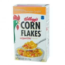Kellogg's Corn Flakes Single Serve Packs .81oz.