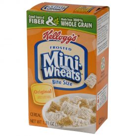 Kellogg's Frosted Mini-Wheats Single Serve Packs 1.31oz.