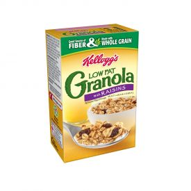 Kellogg's® Low Fat Granola with Raisins Single Pack 2.22oz.