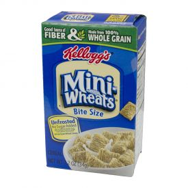 Kellogg's Unfrosted Mini Wheats Single Serve Packs 1.2oz.
