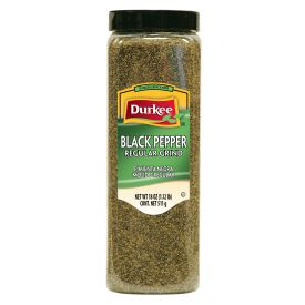 Durkee Black Pepper Regular Grind - 18oz