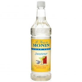 Monin Sugar-Free Sweetener - 33.8oz