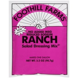 Foothill Farms Low Sodium Ranch Dressing Mix - 3.2oz