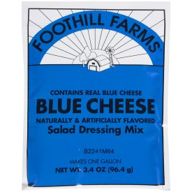 Foothill Farms Blue Cheese Dressing Mix - 3.4oz