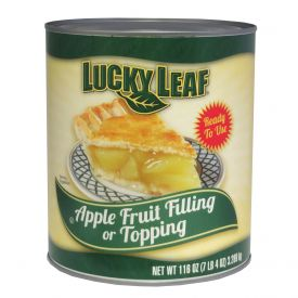 Lucky Leaf Apple Fruit Filling 116oz.