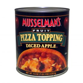 Musselman's Diced Apple Fruit Pizza Topping 114oz.