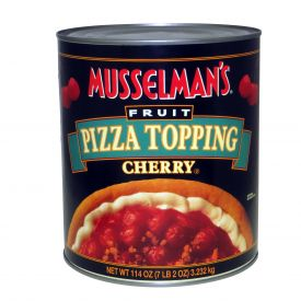 Musselman's Cherry Fruit Pizza Topping 114oz.