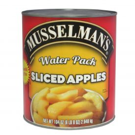 Musselman's Water Pack Sliced Apples 104oz.