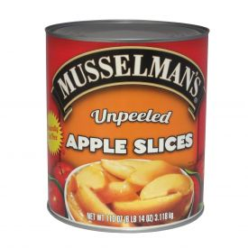 Musselman's Unpeeled Apple Slices 110oz.