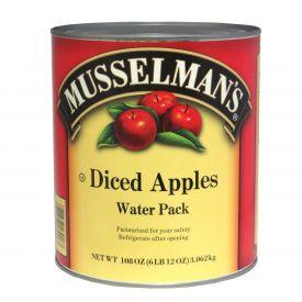 Musselman's Diced Apples in Water 108oz.