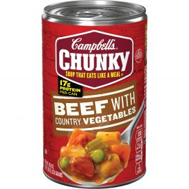 Campbell's Chunky Beef with Country Vegetables Soup, 18.8 oz
