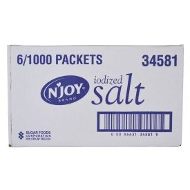 N'Joy Salt Packets .5gm.
