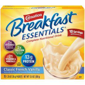 Nestle Carnation Breakfast Classic French Vanilla 1.26oz.