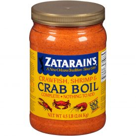 Zatarain's Pre-seasoned Crab Boil 4.5lb.
