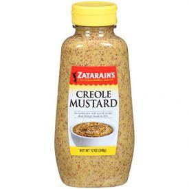 Zatarain's Creole Mustard Squeeze Bottle 12oz.