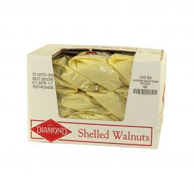 Diamond Walnut Halves & Pieces in A Bag 2lb.