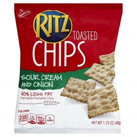 Ritz Sour Cream and Onion Chips - 1.75oz